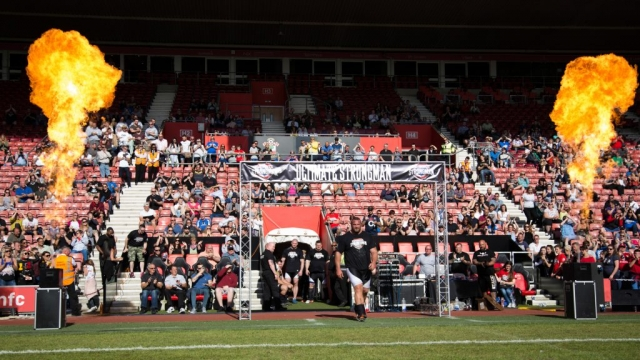 Terry Hollands at Ultimate Strongman Summermania
