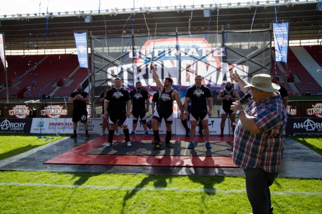 Martins Licis wins Ultimate Strongman Summermania 2017
