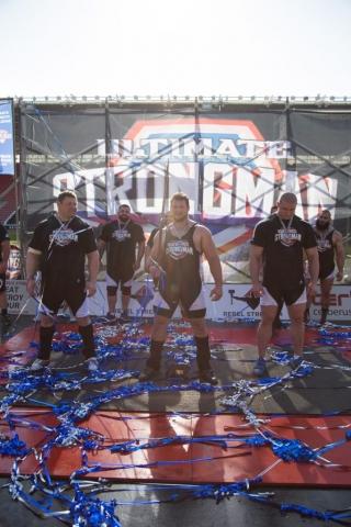 Martins Licis wins Ultimate Strongman Summermania 2017