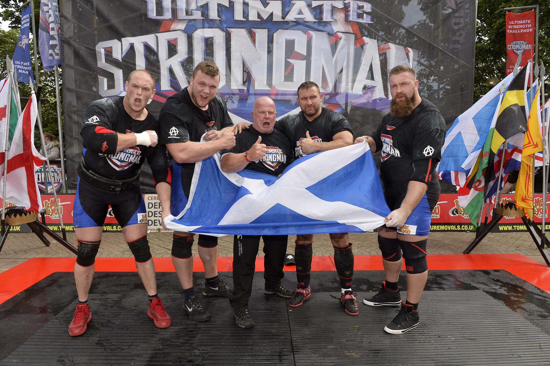 ultimate strongman battle of britain winners Scotland