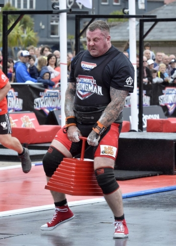 Nathan Llewellyn, Wales. Ultimate Strongman Battle of Britain.