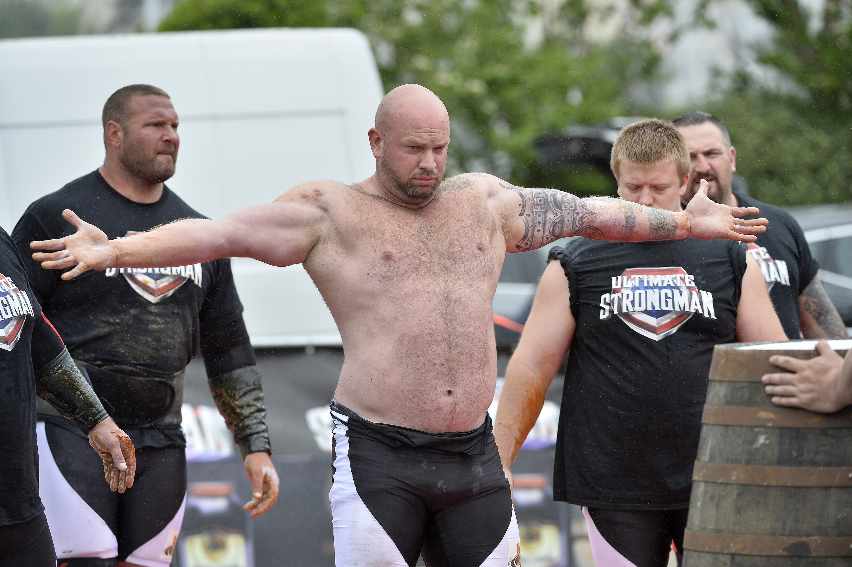 England's Strongest Man, Phil Roberts.