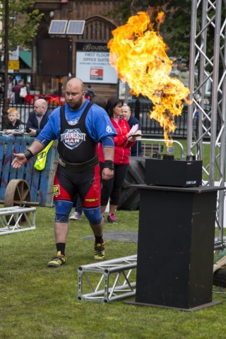 UK's Strongest Man 2017, Hywel Owen Thomas of Wales