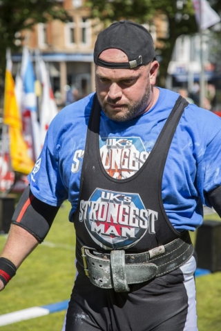 England's Strongest Man, Phil Roberts