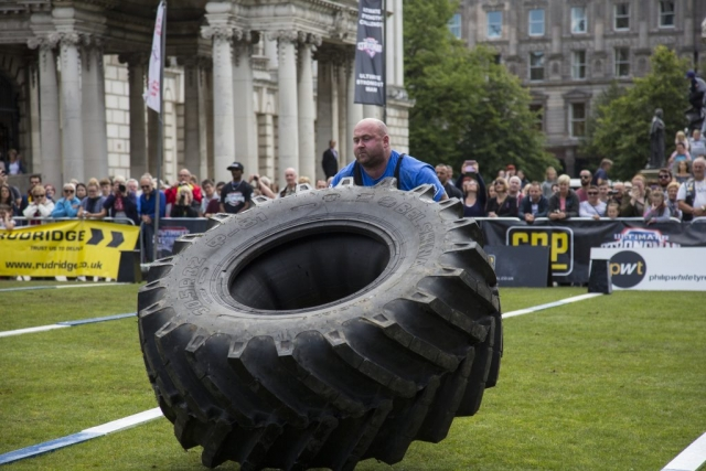 Pat O'Dwyer, Ireland's Strongest Man 2016 & 2017