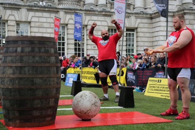 Laurence Shahlaei, Ultimate Strongman World Champion