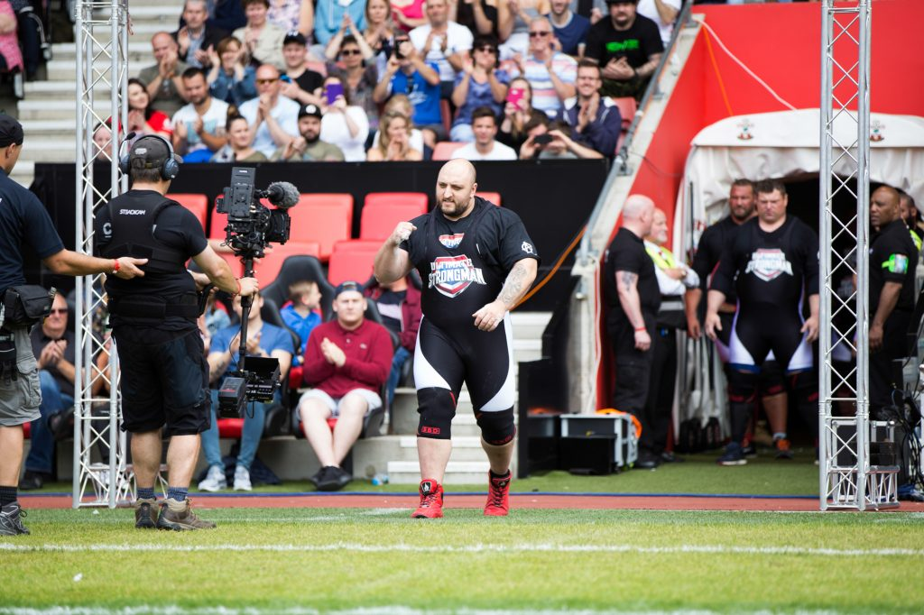 Graham Hicks at Ultimate Strongman Summermania 2017