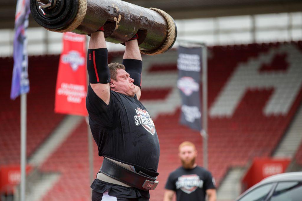 Zydrunas Savickas at Ultimate Strongman Summermania 2017