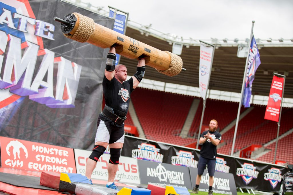 Mateusz Kieliszkowski at Ultimate Strongman Summermania 2017