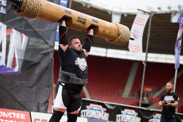 Matjaz Belsak at Ultimate Strongman Summermania 2017