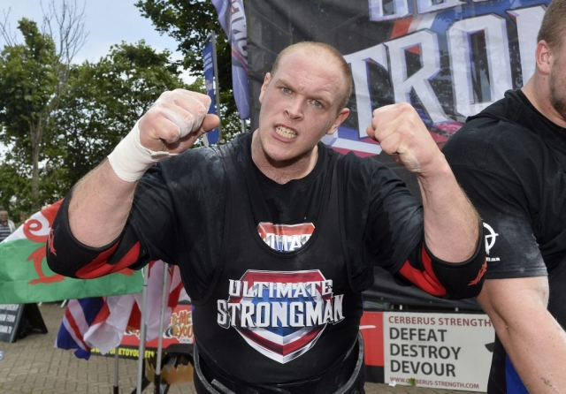 Paul Benton, Scotland Strongman