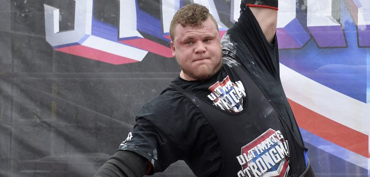 Press Eye - Belfast - Northern Ireland - 1st July Photo by Stephen Hamilton  / Press Eye. Tom Stoltman from Scotland  Thousands turned out to enjoy a family fun day at the Ultimate Strongman 4 Nations Team Championship in Bangor, sponsored by 'To me To You Removals' and supported by Ards and North Down Borough Council. Organisers Glenn Ross and David McConachie were delighted by the success of the event and hope to make this an annual event for Bangor.