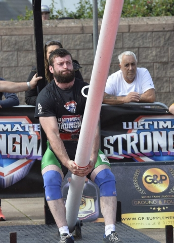 Ultimate Strongman Battle of Britain. Matthew McCoy