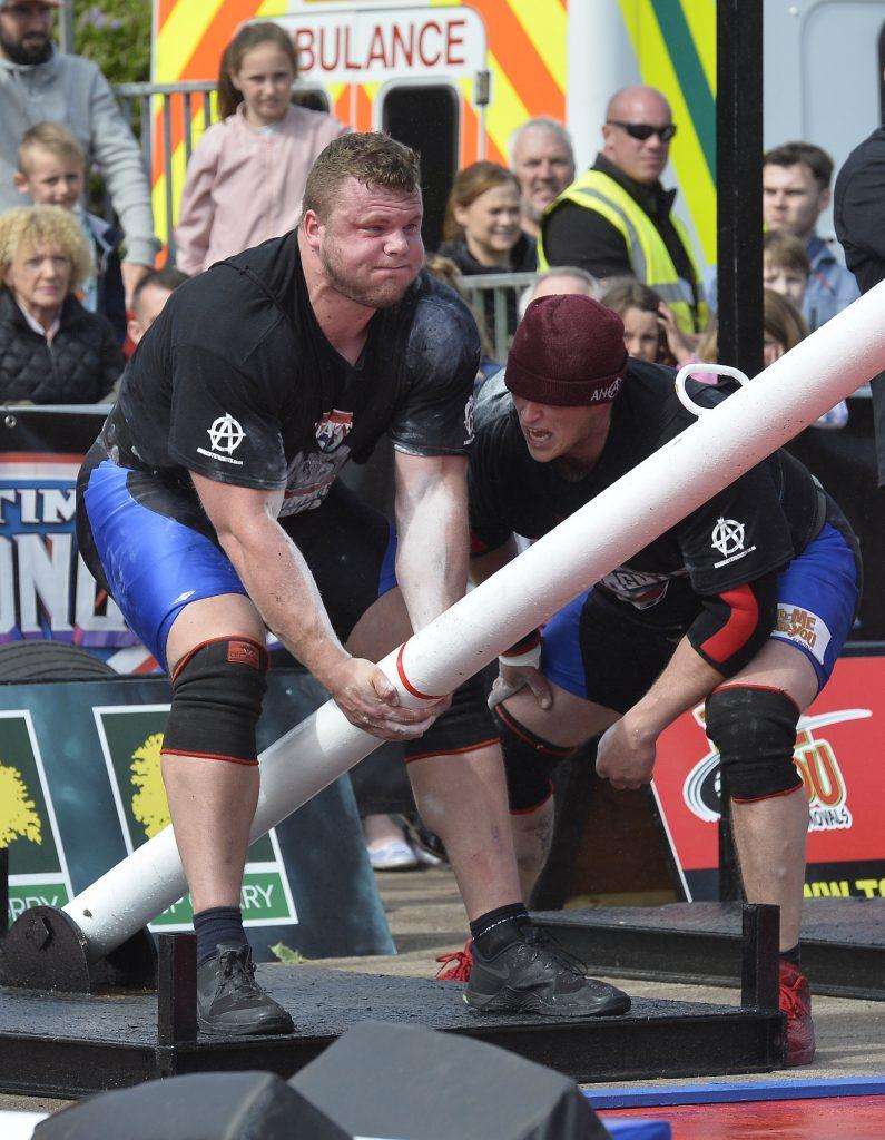 Ultimate Strongman Battle of Britain.
