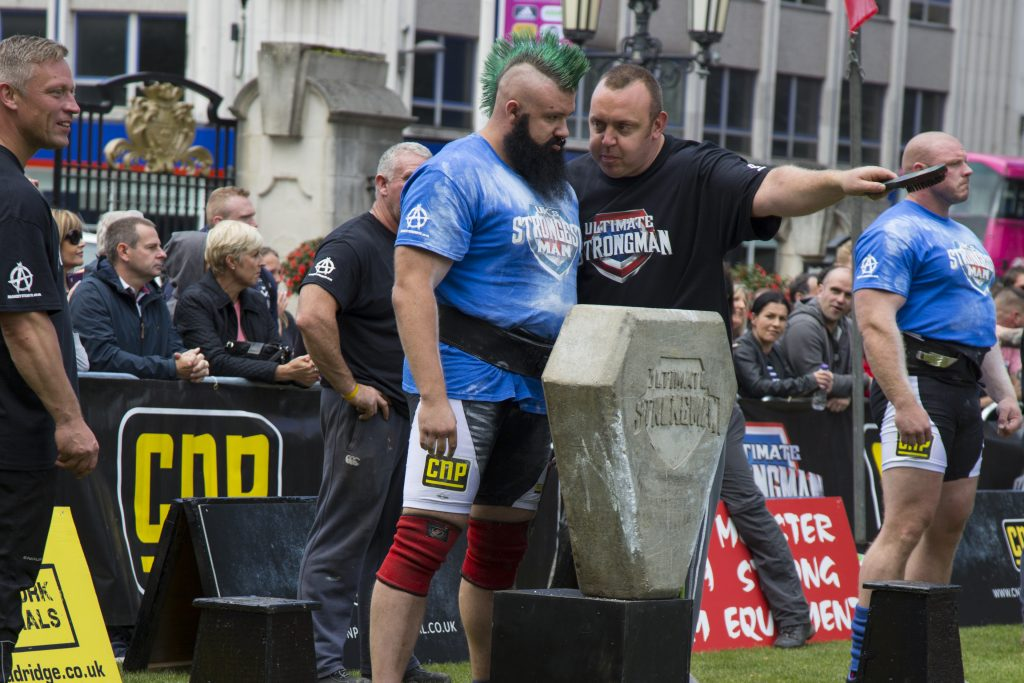 UK's Strongest Man, Ashton Reid