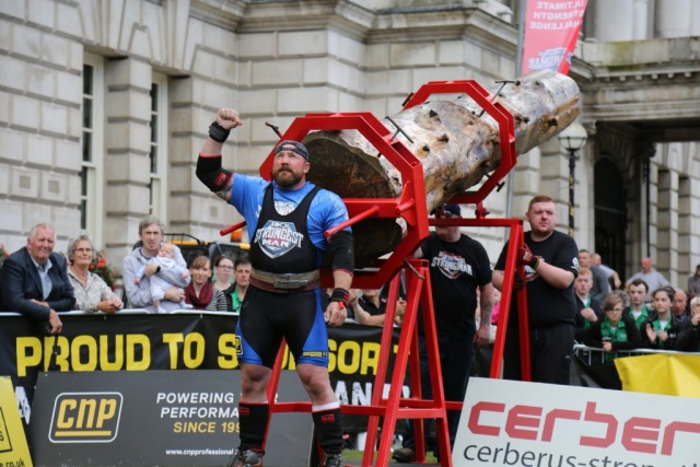 UK's Strongest Man 2017
