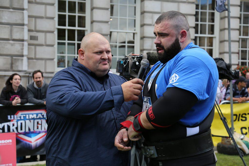 UK's Strongest Man 2017, Charlie Gough, Glenn Ross