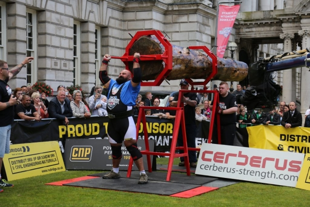 UK's Strongest Man 2017, Laurence Shahlaei