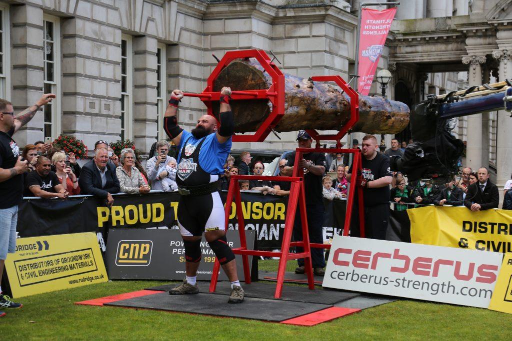 UK's Strongest Man 2017, Laurence Shahlaei