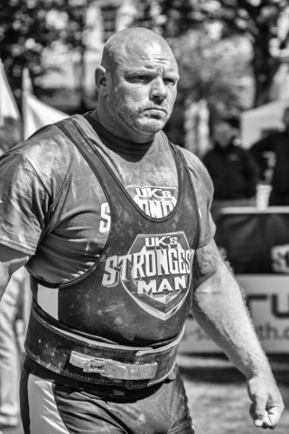 Mark Snape, Strongman