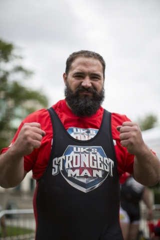 Ben 'Badger' Brunning, Wales' Strongest Man